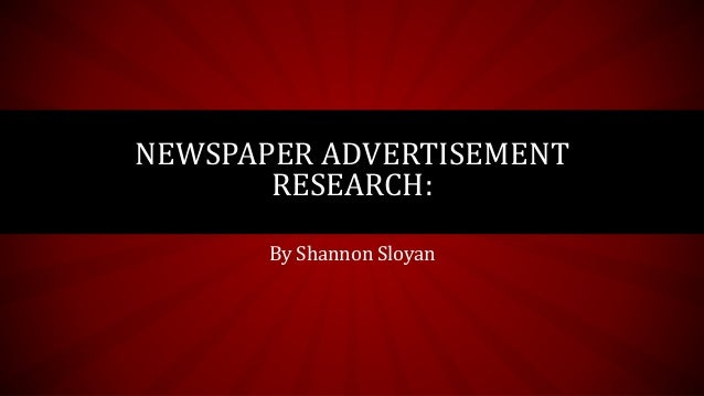 newspaper advertising research Emarketer is the first place to look for data and research on digital for business professionals who need to be prepared for the work ahead.