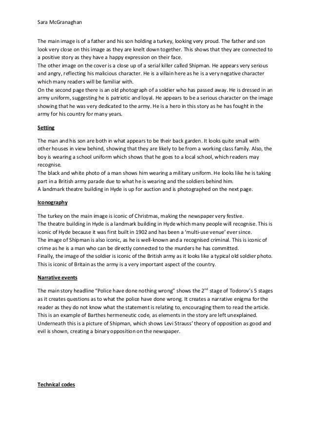 Newspaper analysis 3 Slide 2