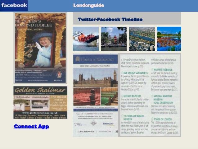 Londonguide Twitter-Facebook Timeline  Newspaper-App  Connect App