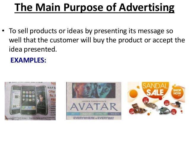 how to create an advertising message