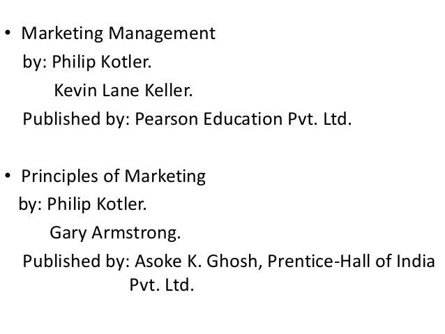 Marketing management philip kotler kevin lane keller