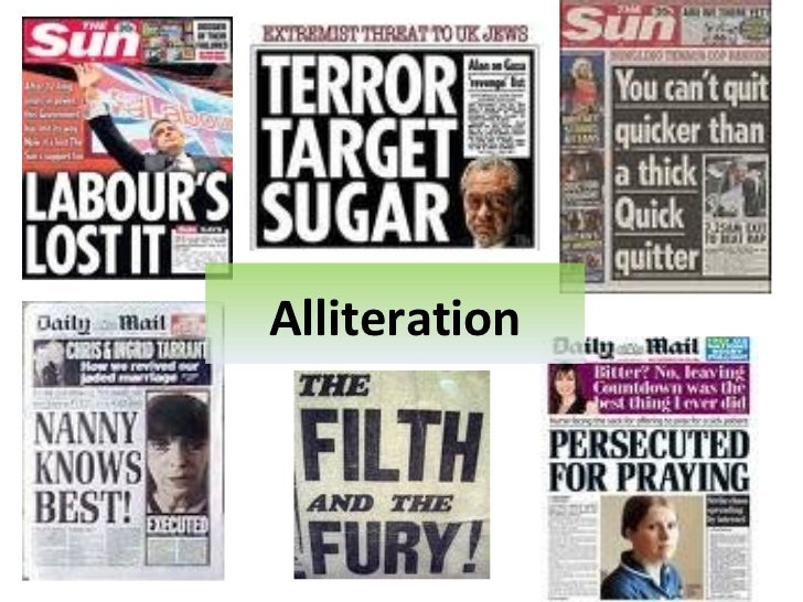 Newspaper Headlines And Leads