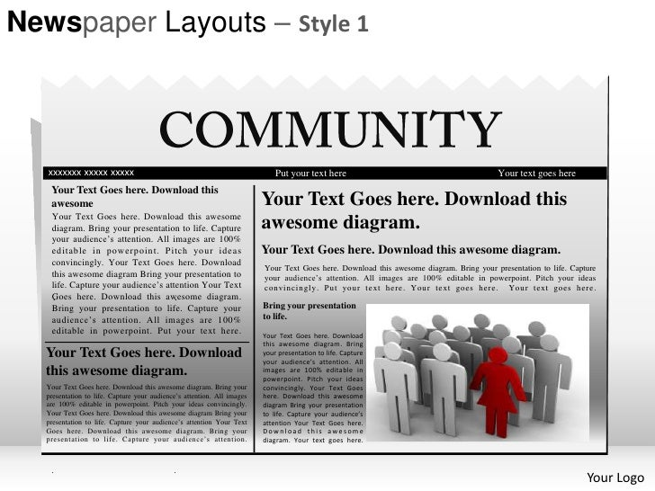 Powerpoint Templates Newspaper
