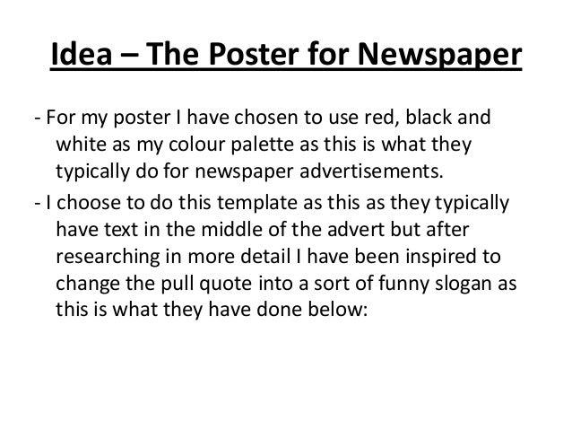 Newspaper Powerpoint For Class Presentation