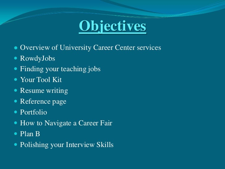 career objectives for teachers - thevictorianparlor.co