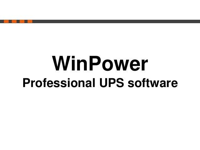 New Spring Line Interactive UPS series presentaton ortechPS