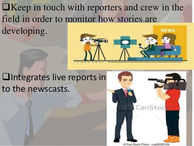 duties of a news producer - Duties Of A Producer