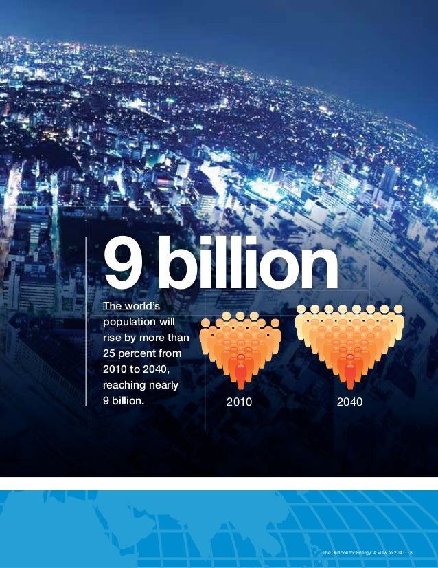 Exxonmobil 2013 The Outlook For Energy A View To 2040