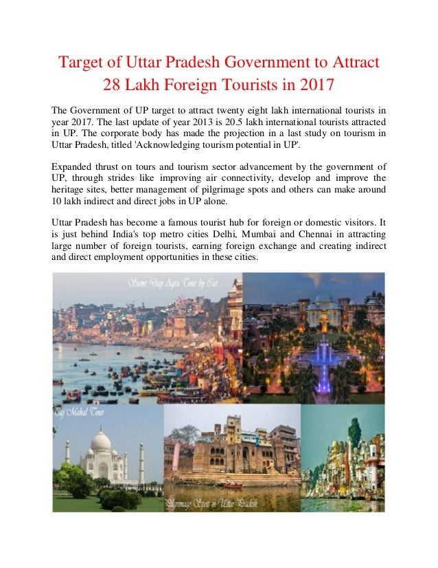 News Related To Tourism in Uttar Pradesh by Government of ...