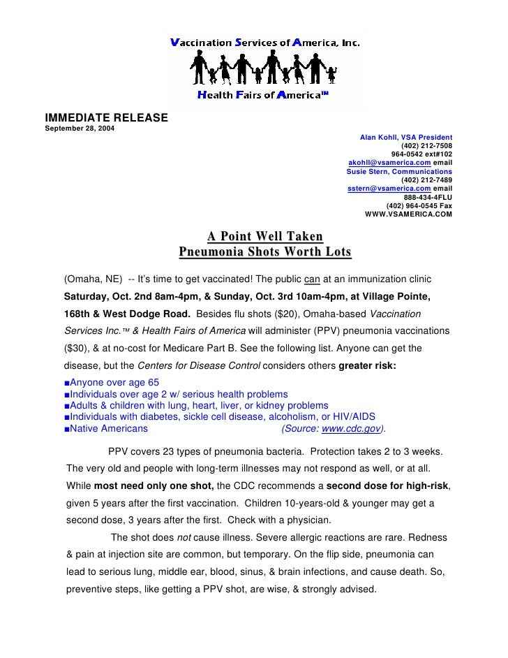News Release Sample 1 | Press Releases Services Omaha Ne | Omaha Publ…