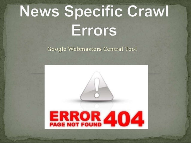 Google Webmasters Central Tool
