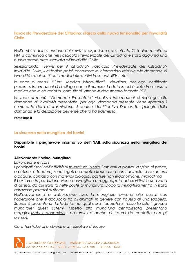 News ssl 37 2015 for Fascicolo previdenziale del cittadino