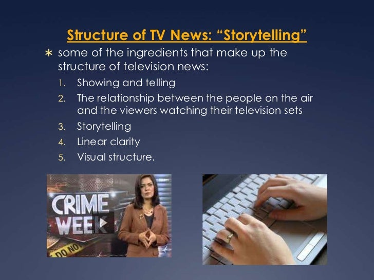 Structure of TV News