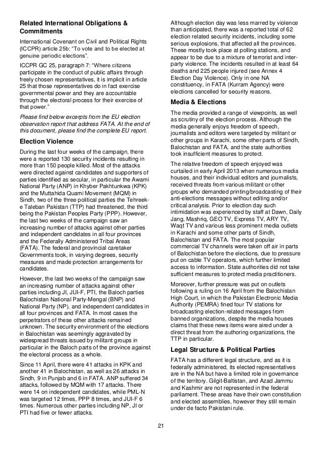 international covenant on civil and political rights summary pdf