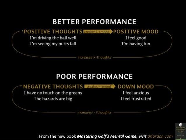 From the new book Mastering Golf's Mental Game, visit drlardon.com
