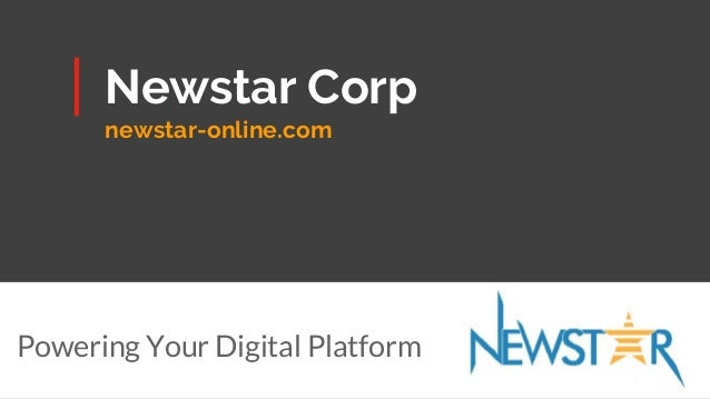 Newstar Corp newstar-online.com Powering Your Digital Platform
