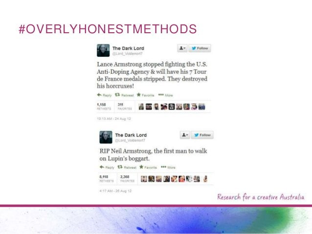 #OVERLYHONESTMETHODS