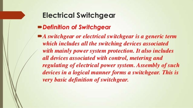 switchgear and protection by vala kamlesh