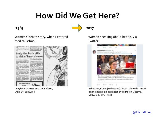 News Without Gatekeepers: Social Media and Medicine  Slide 3