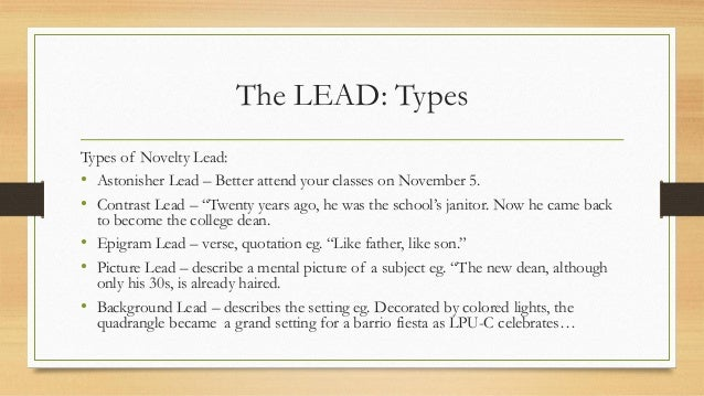 How to write amazing leads ppt video online download.