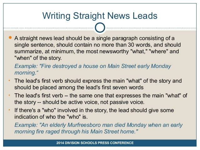 how to summarize a news article examples