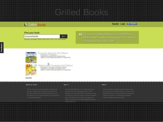 Grilled Books