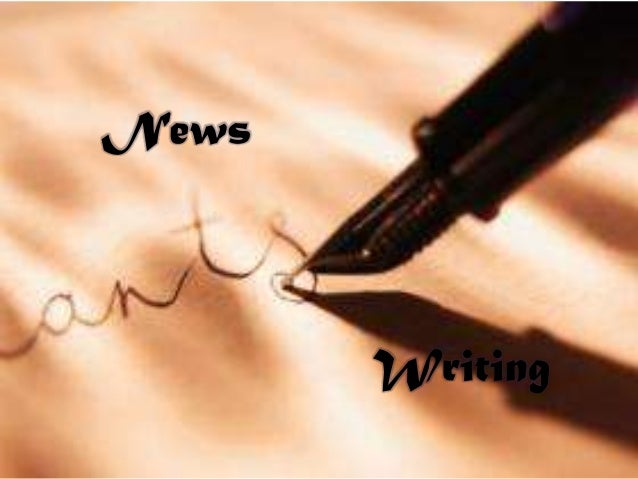 News       Writing