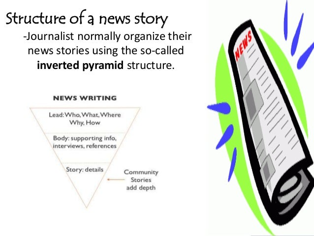 How to construct a news story