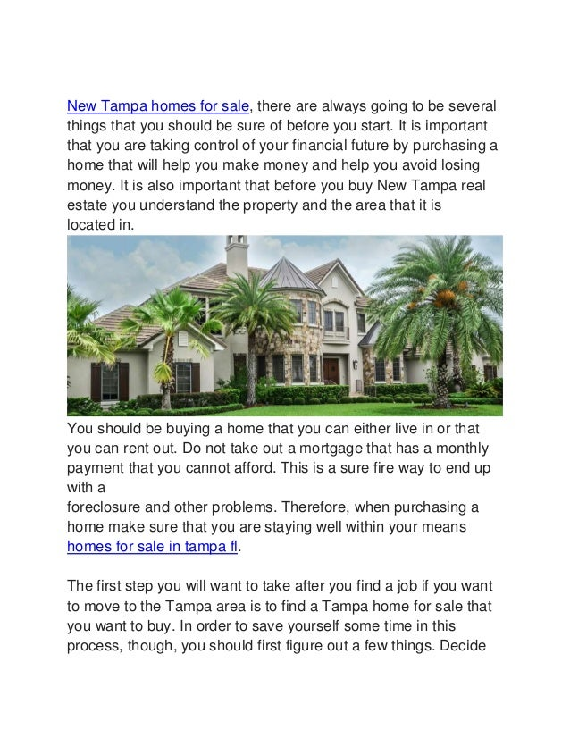 new tampa homes for sale new project for sale