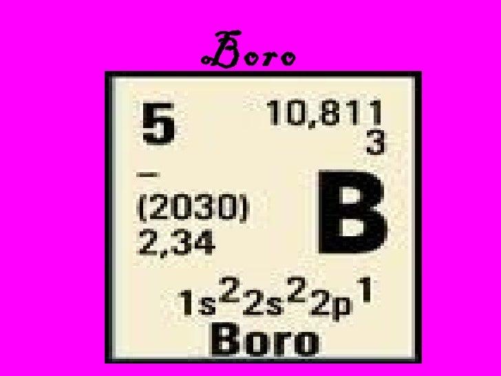 New tania y paola elemento boro el boro es un elemento qumico de la tabla peridica urtaz Gallery