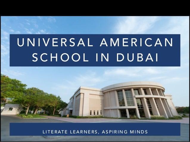 Universal American School – Branch - educationzen.com