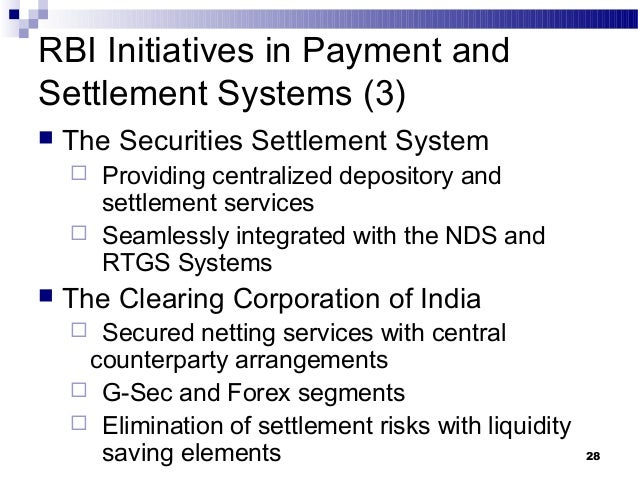 Introduction The Clearing Corporation of India Ltd. (CCIL) (CIN: UMHPLC) was set up in April, to provide guaranteed clearing and settlement functions for transactions in Money, G-Secs, Foreign Exchange and Derivative markets.