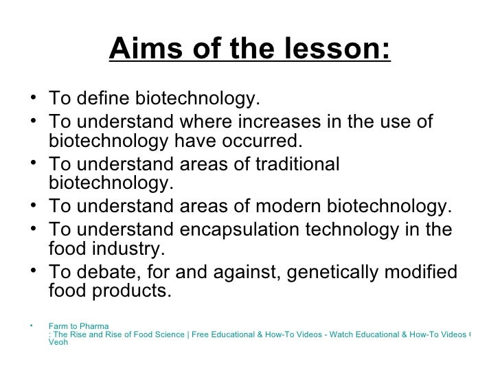 New technologies in the food industry Slide 2