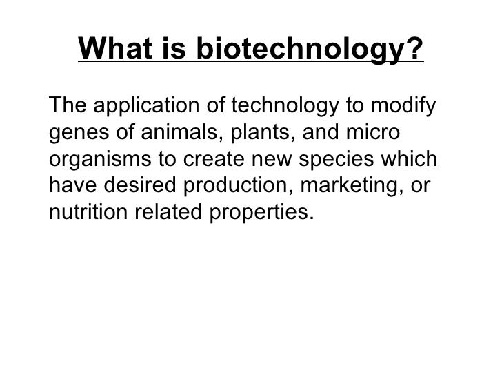 New technologies in the food industry Slide 3