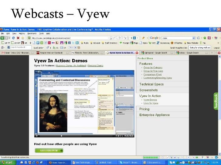 Webcasts – Vyew