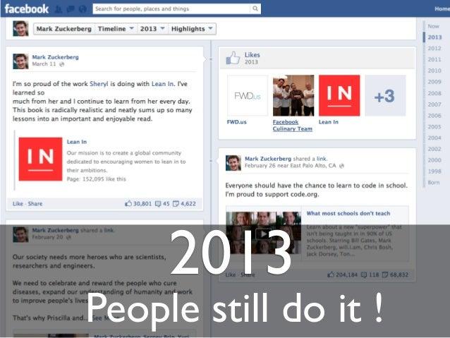 2013People still do it !