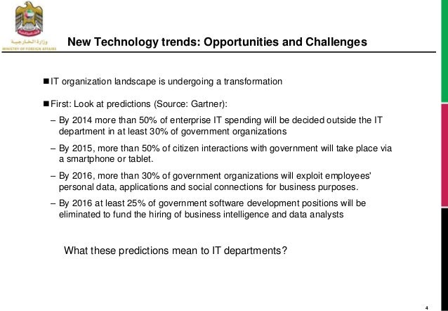 technology trend opportunities  challenges