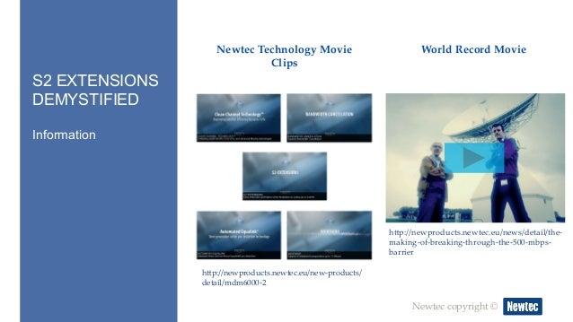 Presentation: Webinar S2 Extensions Demystified