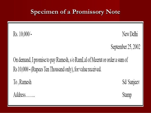 Promissory Note Templates  Download Free  Premium
