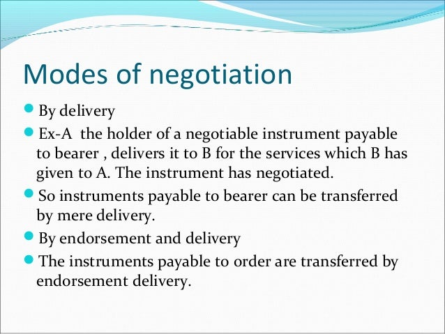 law on negotiable instruments sections 1 10 First 10 sections of negotiable instruments law by miguel_gray.