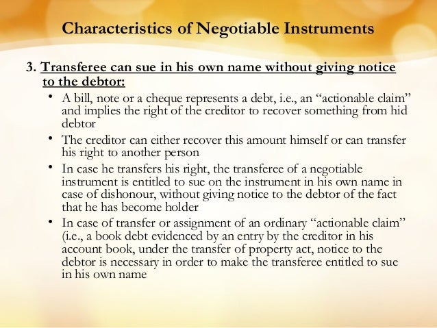 the negotiable instruments law act no 2031 Section 10 to section 21 still working on the other after i completed the negotiable instrument law, next would be the philippine constitution just stay t.