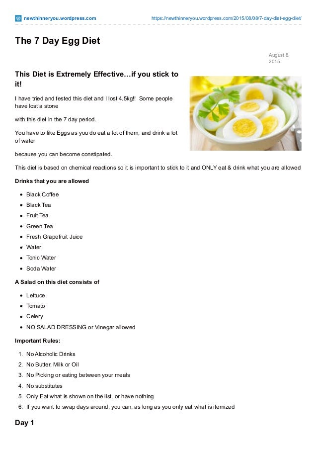Sly image with regard to 14 day egg diet menu printable