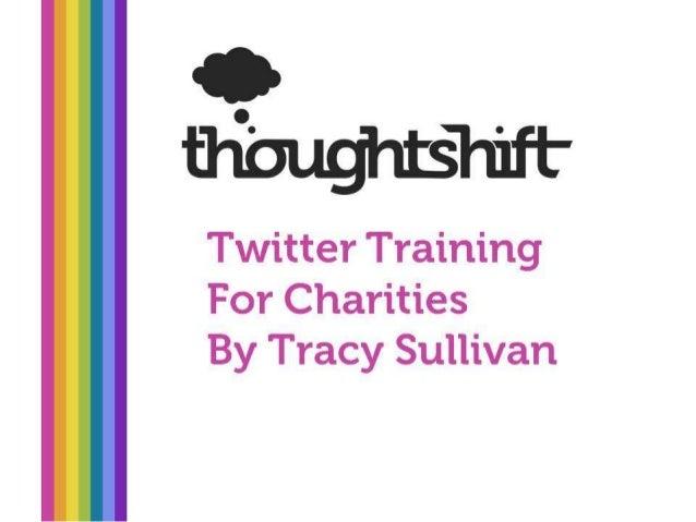 Twitter Training for Charities