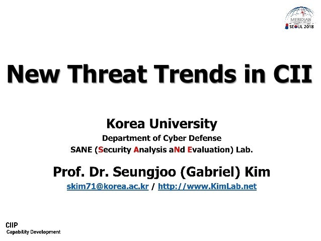 New Threat Trends in CII