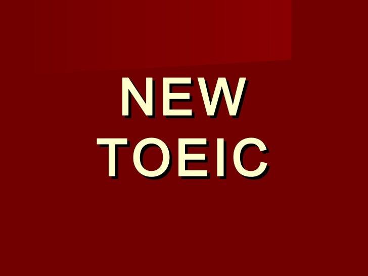 NEW TOEIC