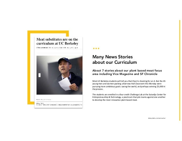 IkhlaqSidhu,contentauthor Many News Stories about our Curriculum About 7 stories about our plant based meat focus area ...