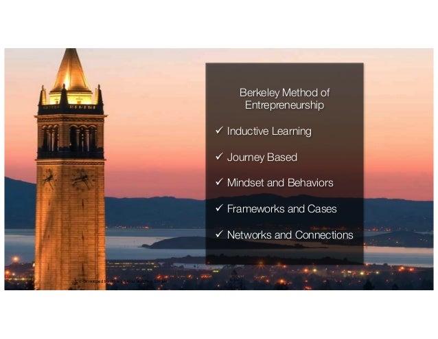 IkhlaqSidhu,contentauthor Co-developed by Ikhlaq Sidhu and Ken Singer Berkeley Method of Entrepreneurship ü Inductive L...