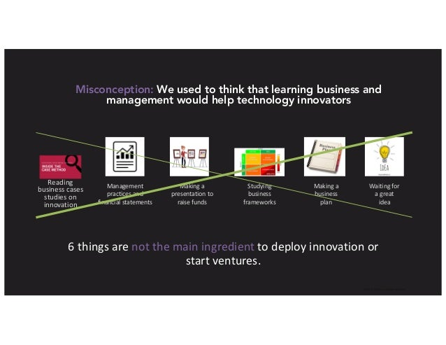 IkhlaqSidhu,contentauthor Misconception: We used to think that learning business and management would help technology i...