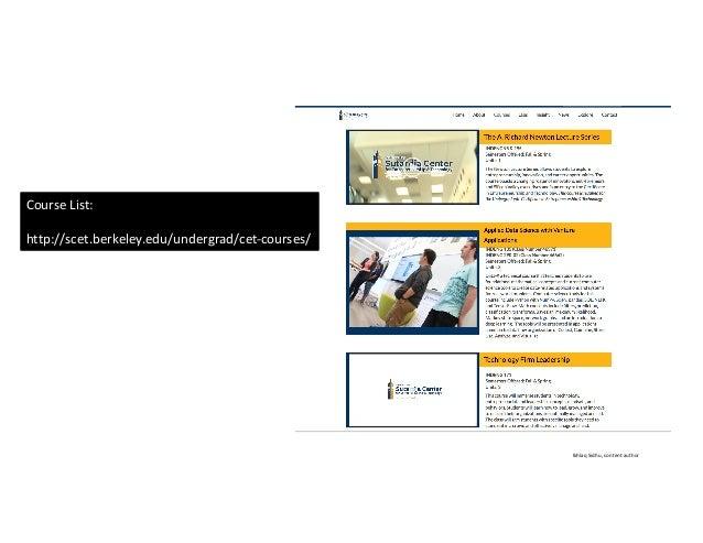 IkhlaqSidhu,contentauthor CourseList: http://scet.berkeley.edu/undergrad/cet-courses/
