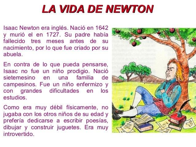 la teoria de newton